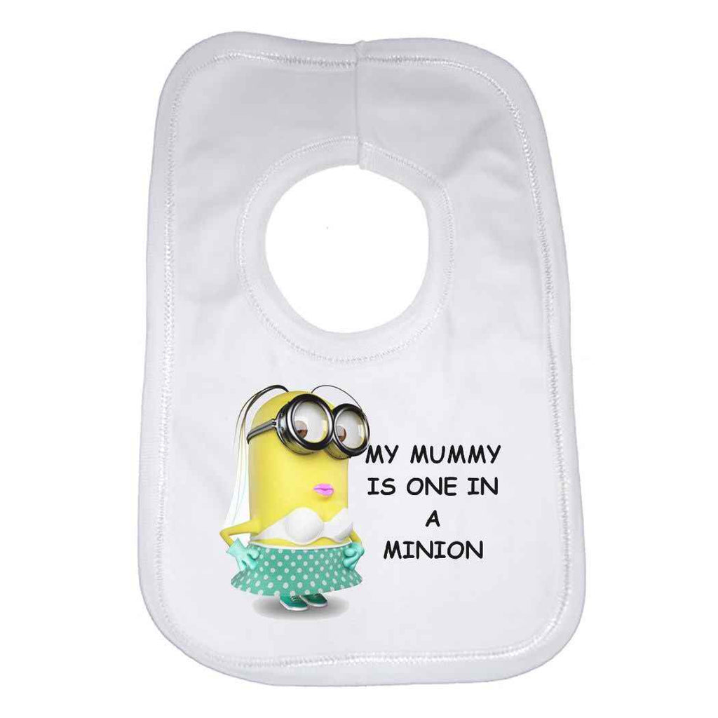 My Mummy Is One In a Minion Baby Bib