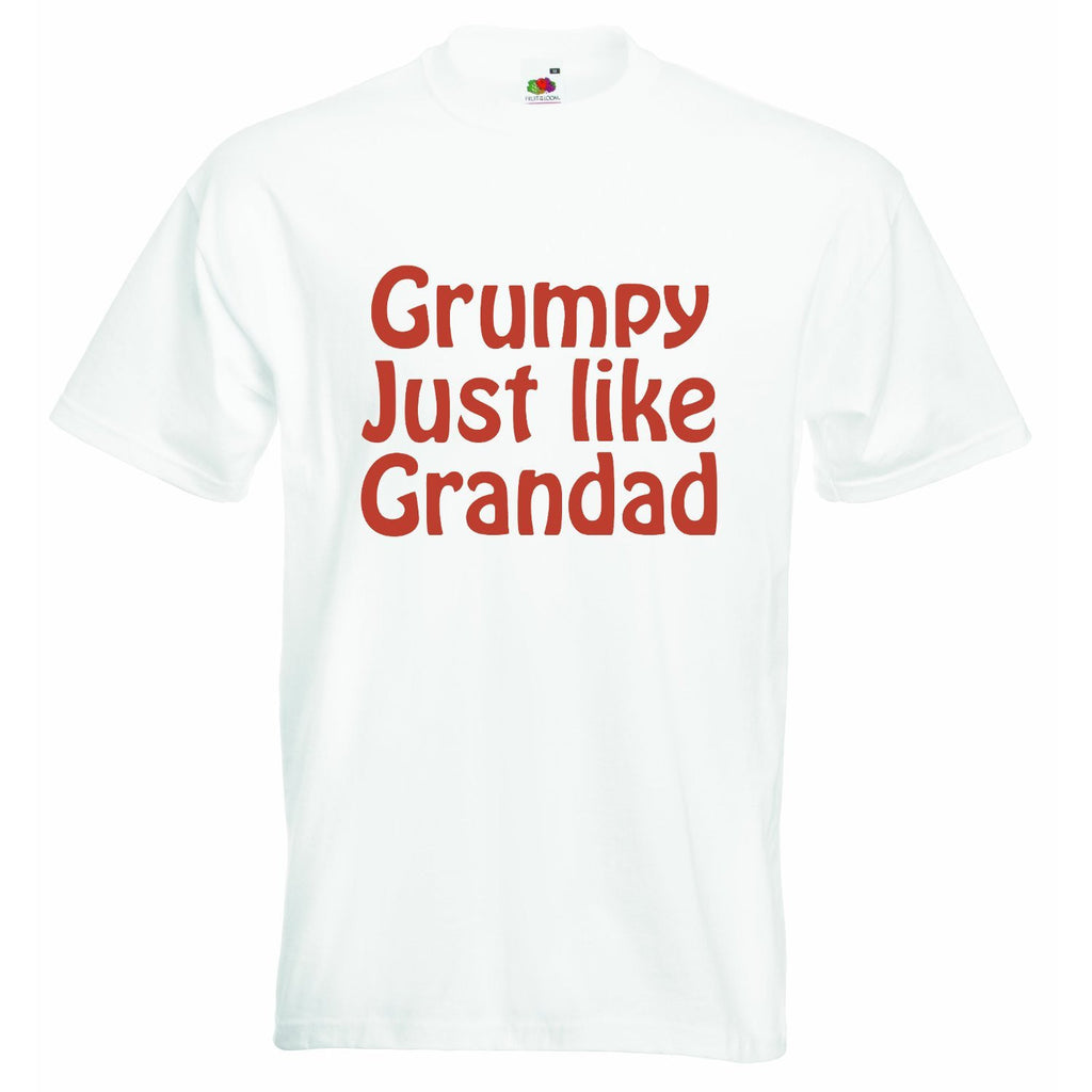 Grumpy just Like Grandad Baby T-shirt