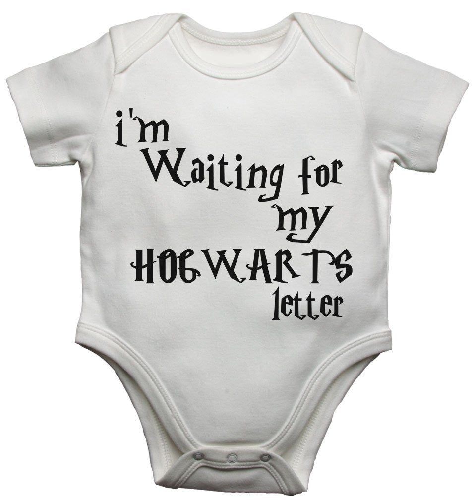 Im Waiting For My Hogwarts Letter Baby Vests Bodysuits