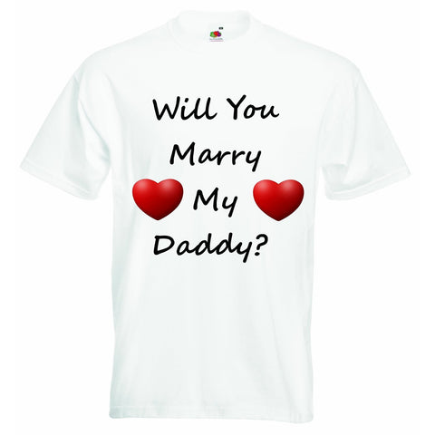 Will you Marry My Daddy Unisex T-shirt