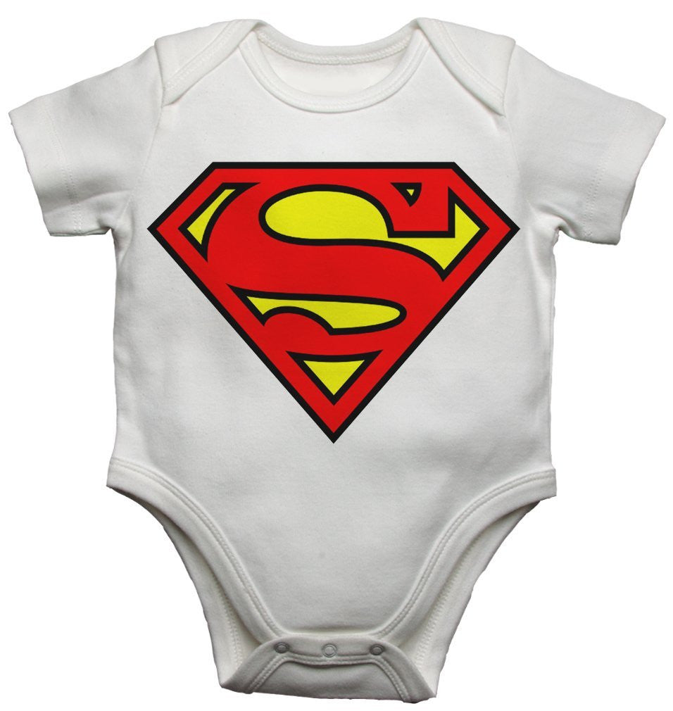 Super Man Boy Baby Vests Bodysuits