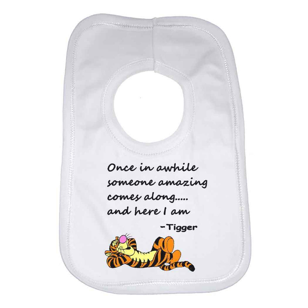 Tigger Beautiful Quotation Baby Bib