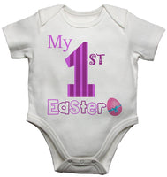 My First Easter Girls Baby Vests Bodysuits