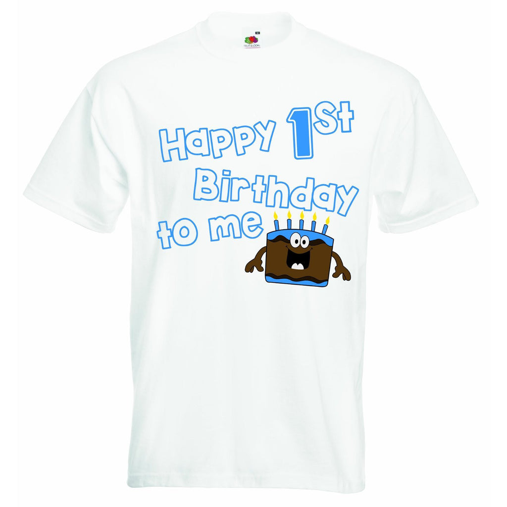 Happy First Birthday to Me - Boys T-shirt