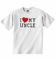 I Love My Uncle - Baby T-shirt