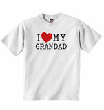 I Love My Grandad - Baby T-shirt