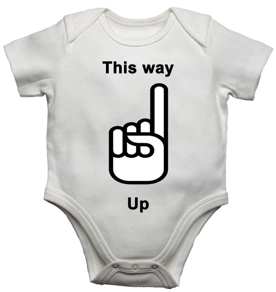 This Way Up Baby Vests Bodysuits