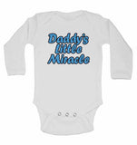 Dadddy's Little Miracle - Long Sleeve Baby Vests