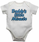 Dadddy's Little Miracle - Baby Vests Bodysuits for Boys, Girls