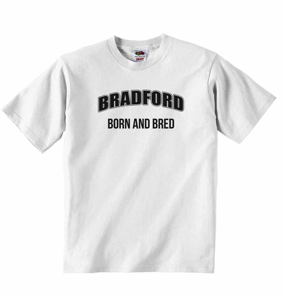 Bradford Born and Bred - Baby T-shirt
