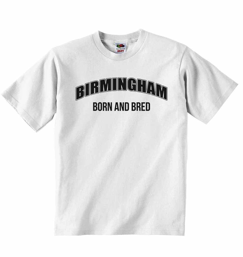 Birmingham Born and Bred - Baby T-shirt