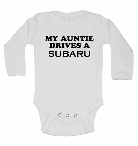My Auntie Drives A Subaru  - Long Sleeve Vests