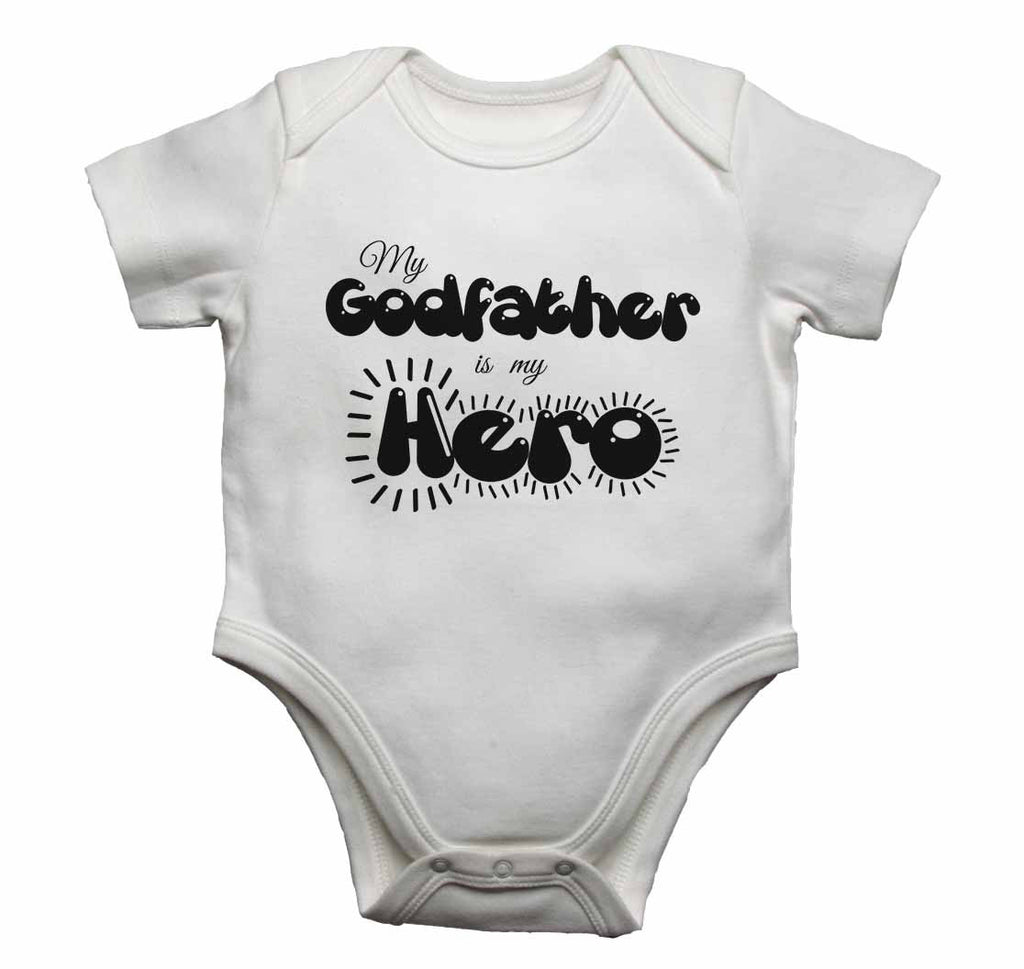 My Godfather is my Hero - Baby Vests