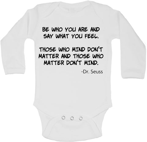 Be Who You Are - Long Sleeve Vests