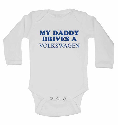 My Daddy Drives A Volkswagen - Long Sleeve Vests