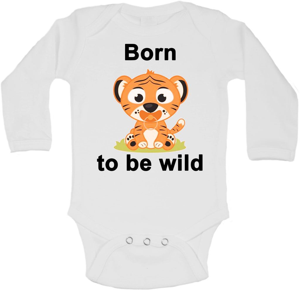 Born To Be Wild - Long Sleeve Vests