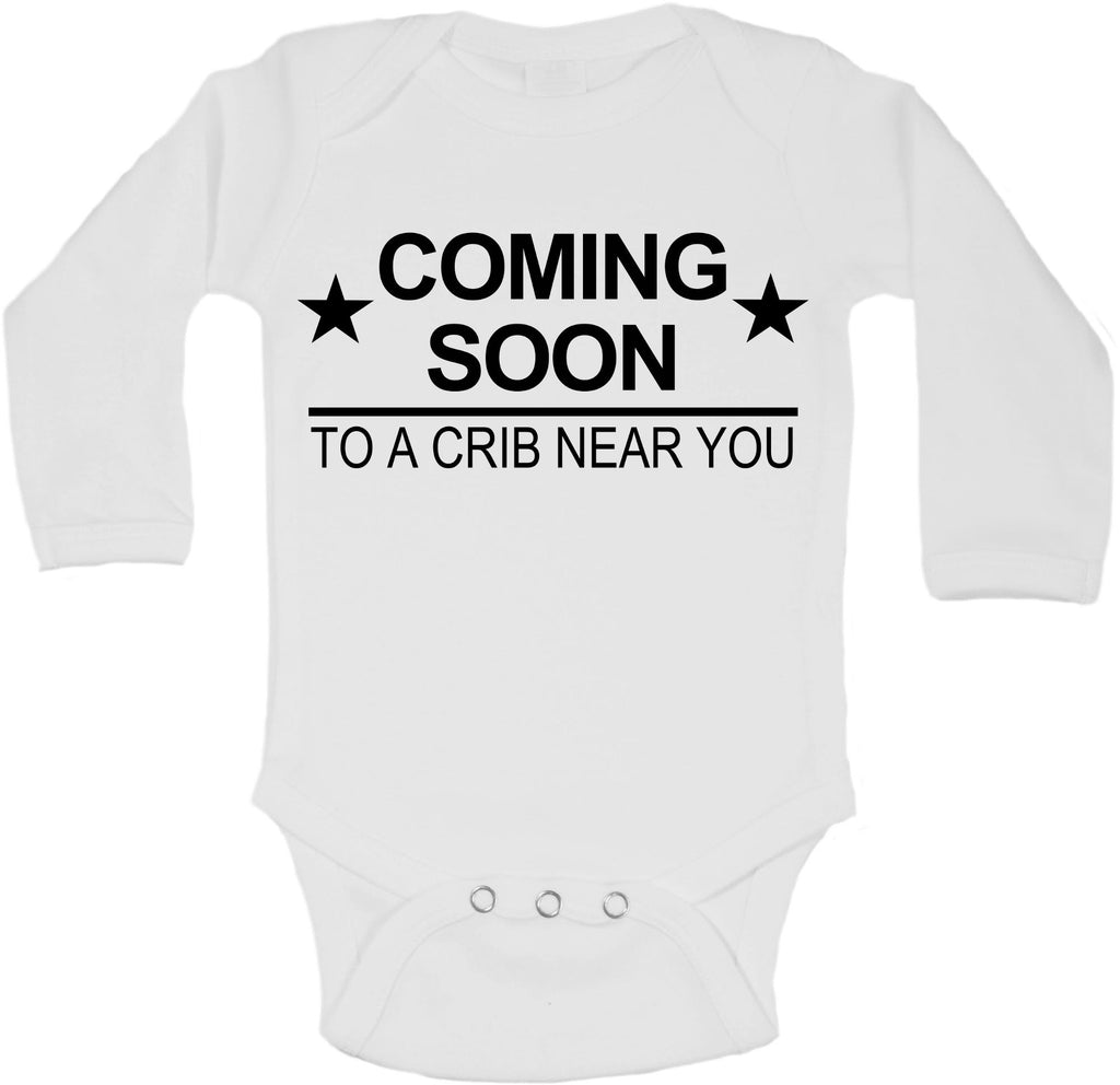 Coming Soon To A Crib Near You - Long Sleeve Vests