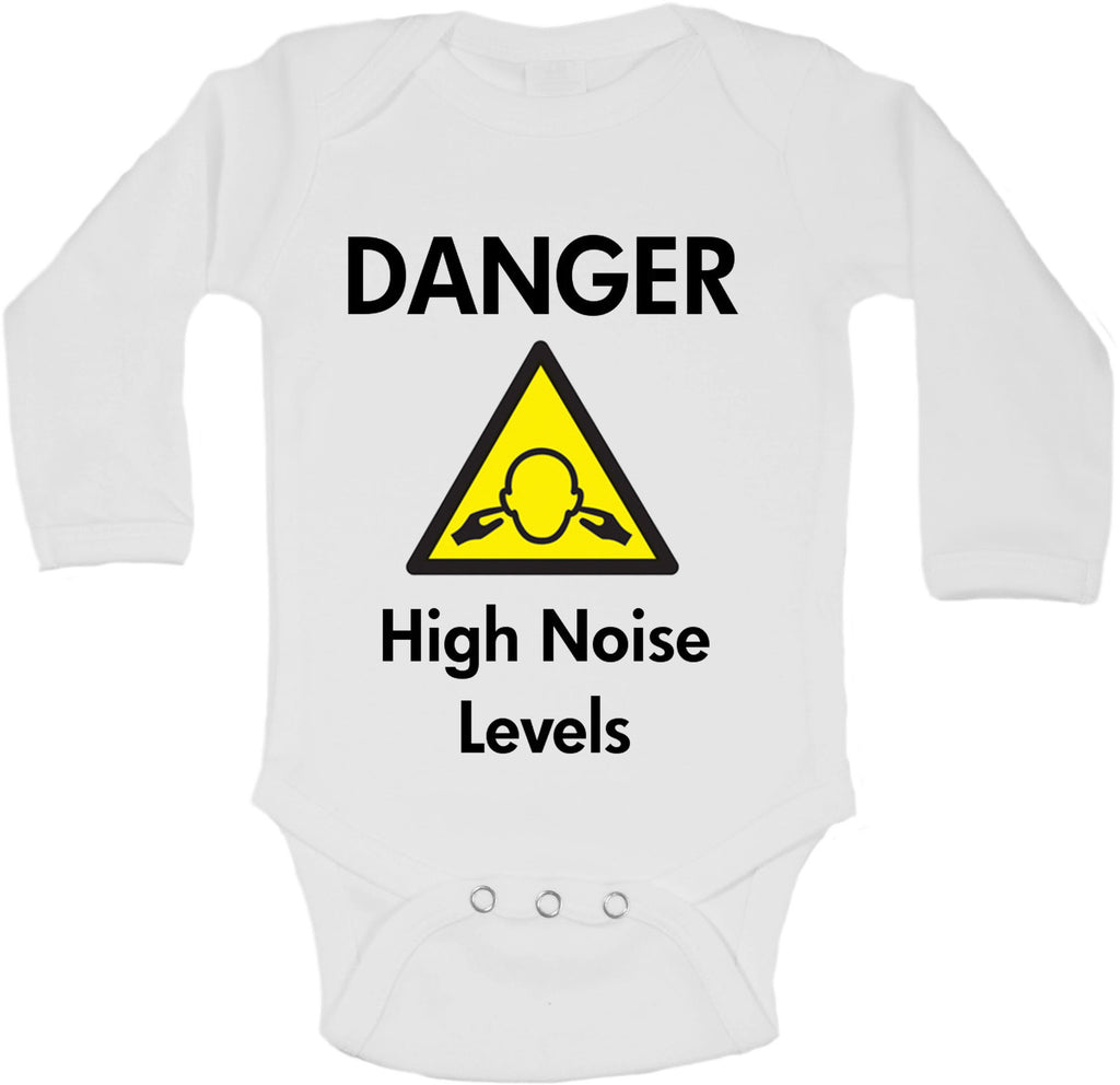 Danger High Noise Levels - Long Sleeve Vests