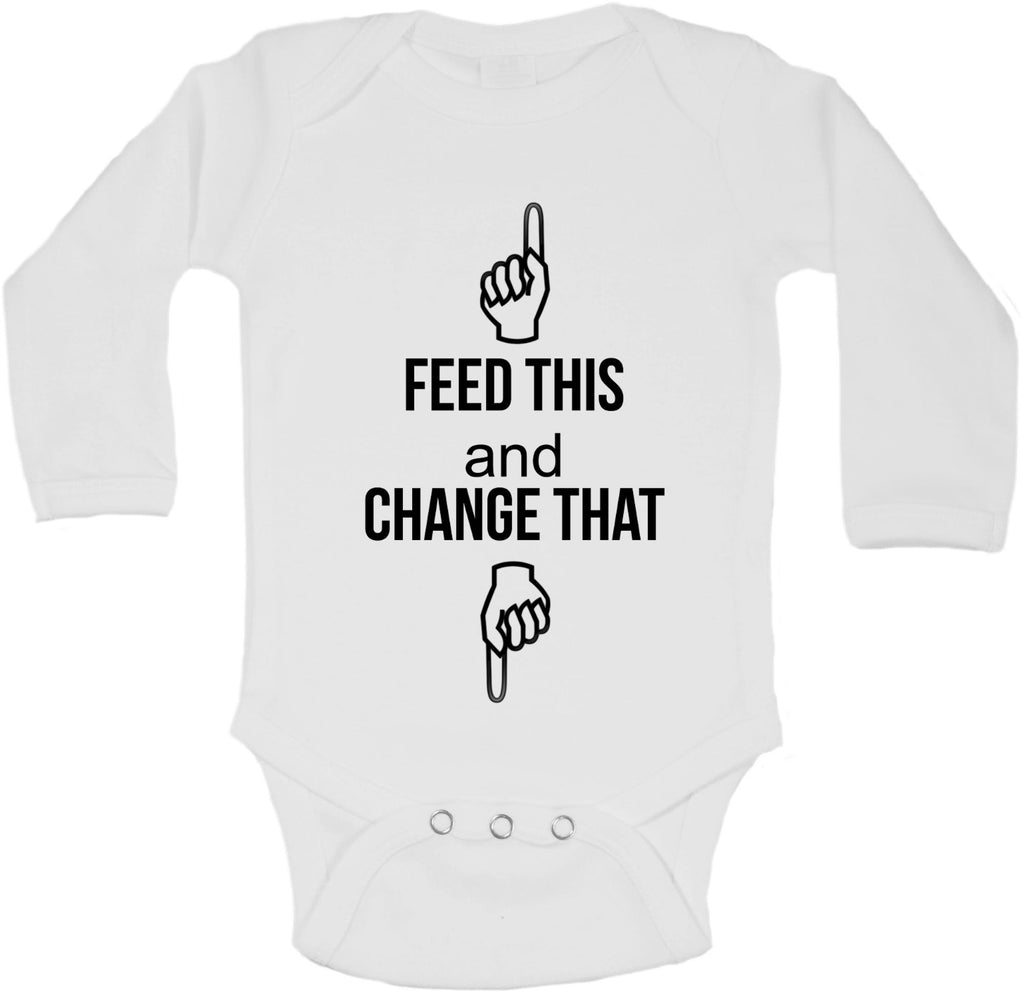 Feed This Change That - Long Sleeve Vests