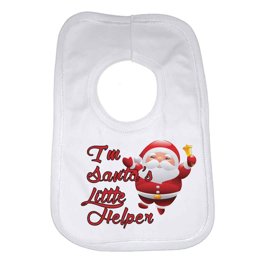 Im Danta's Little Helper Baby Bib
