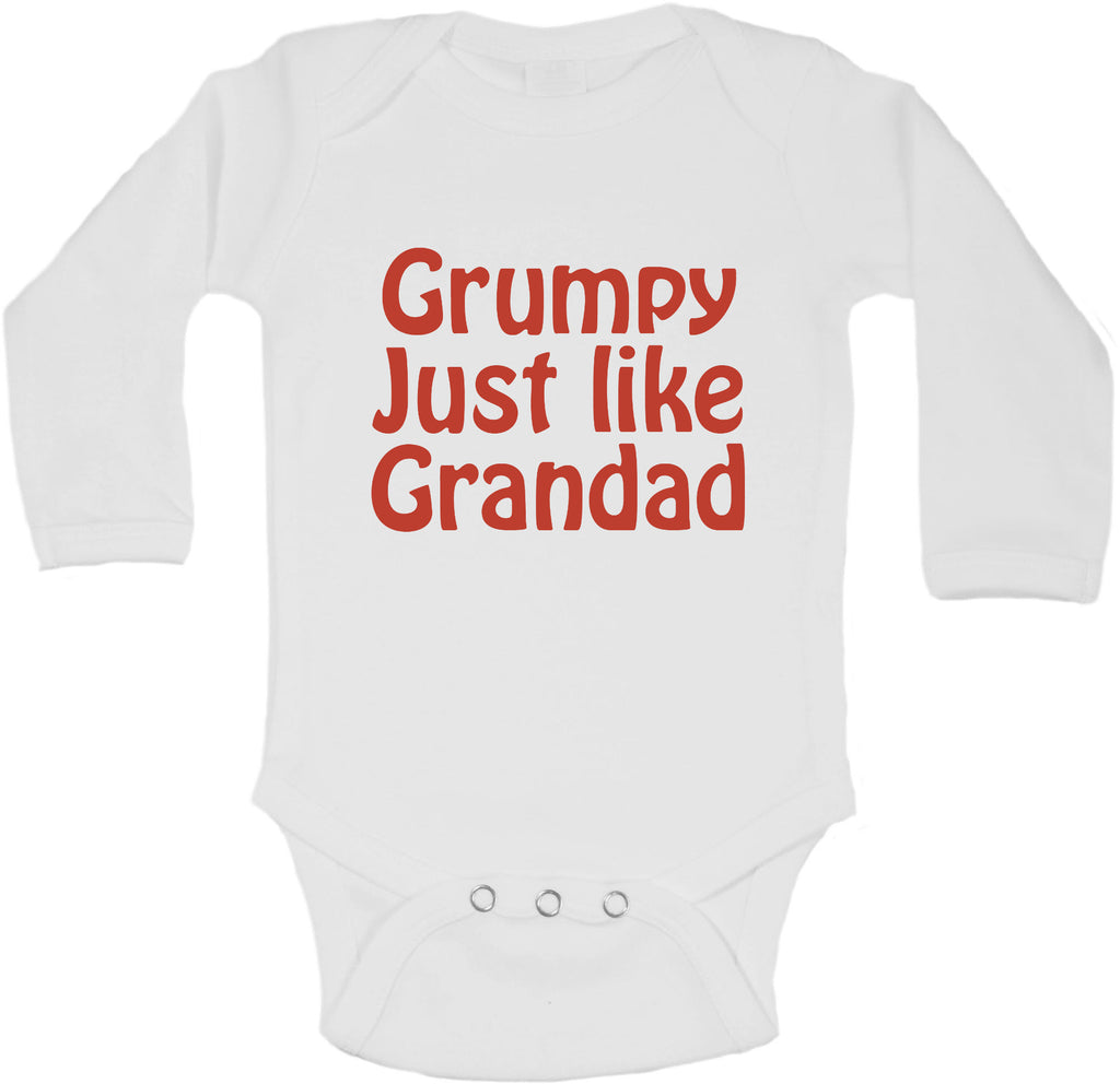 Grumpy Just Like Grandad - Long Sleeve Vests