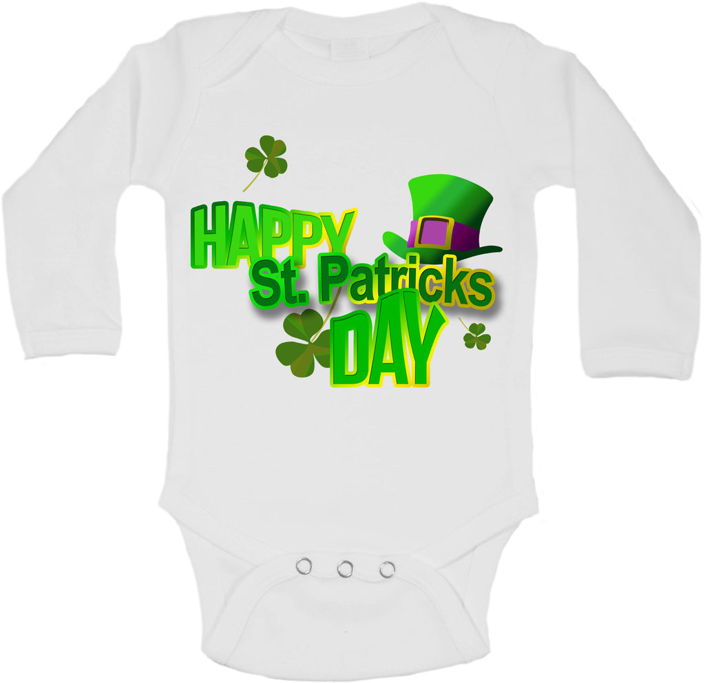 Happy St Patricks Day - Long Sleeve Vests