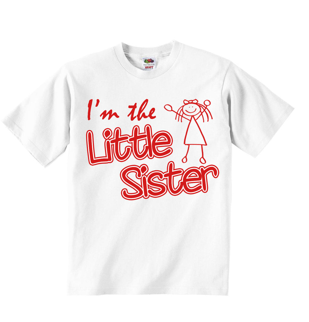 Im The Little Sister - Girls T-shirt