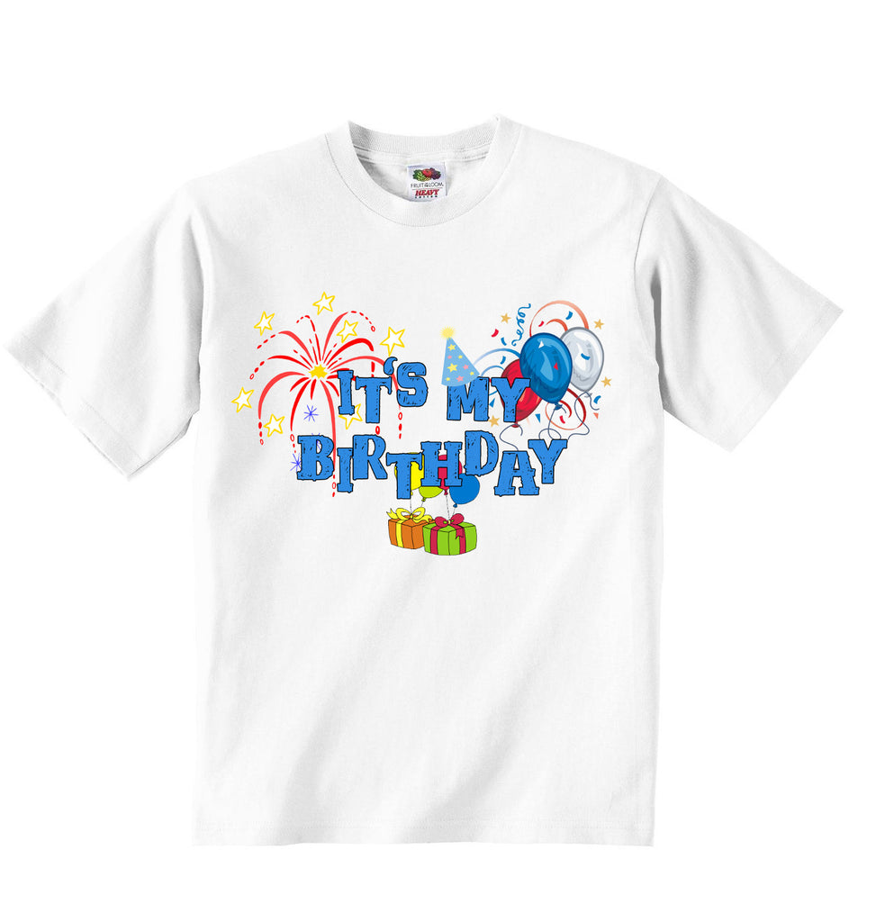Its My Birthday - Boys T-shirt