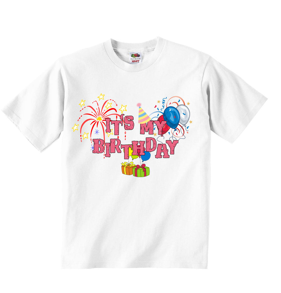 Its My Birthday - Girls T-shirt
