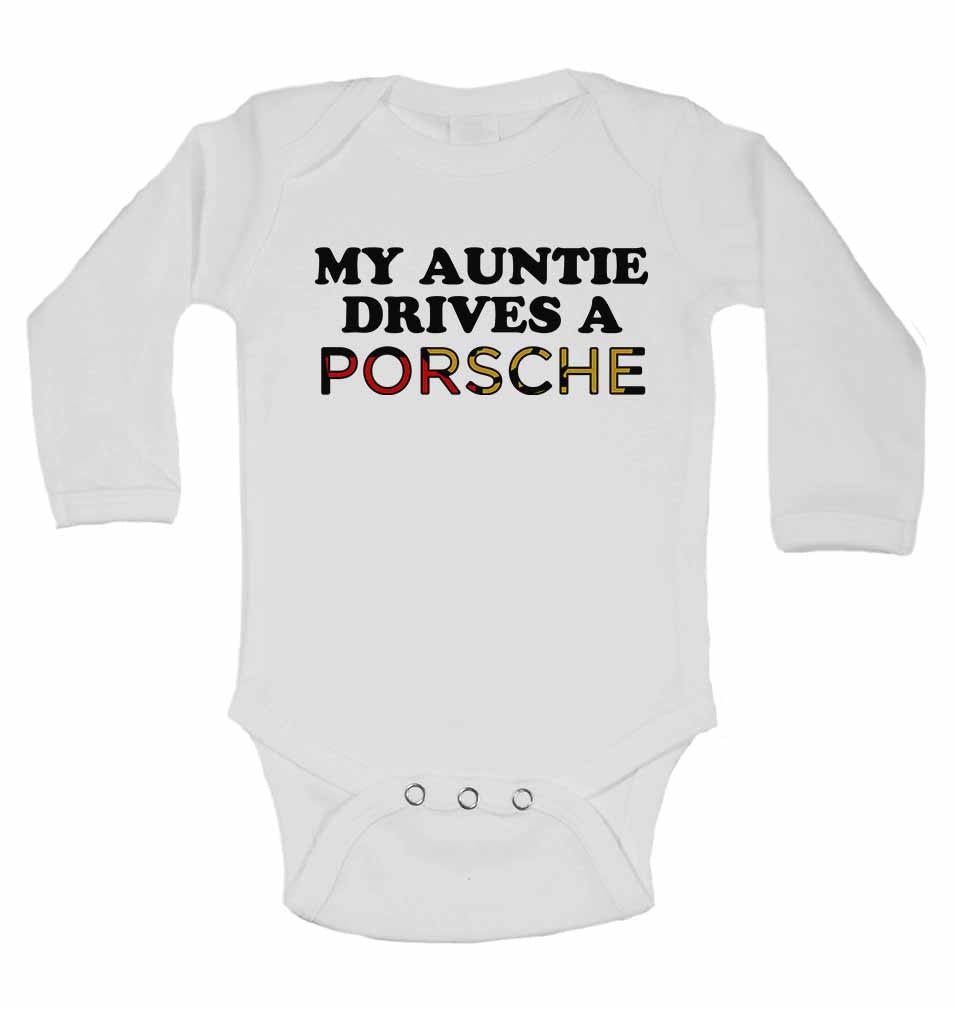 My Auntie Drives A Porsche  - Long Sleeve Vests