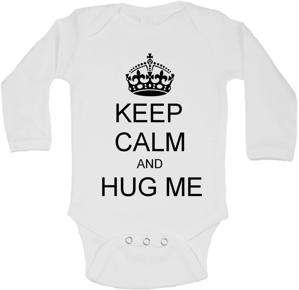 Keep Calm And Hug Me - Long Sleeve Vests