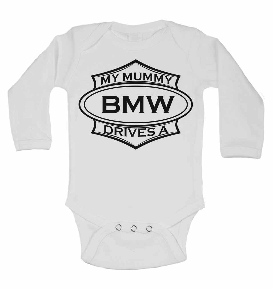 My Mummy Drives A BMW - Long Sleeve Vests