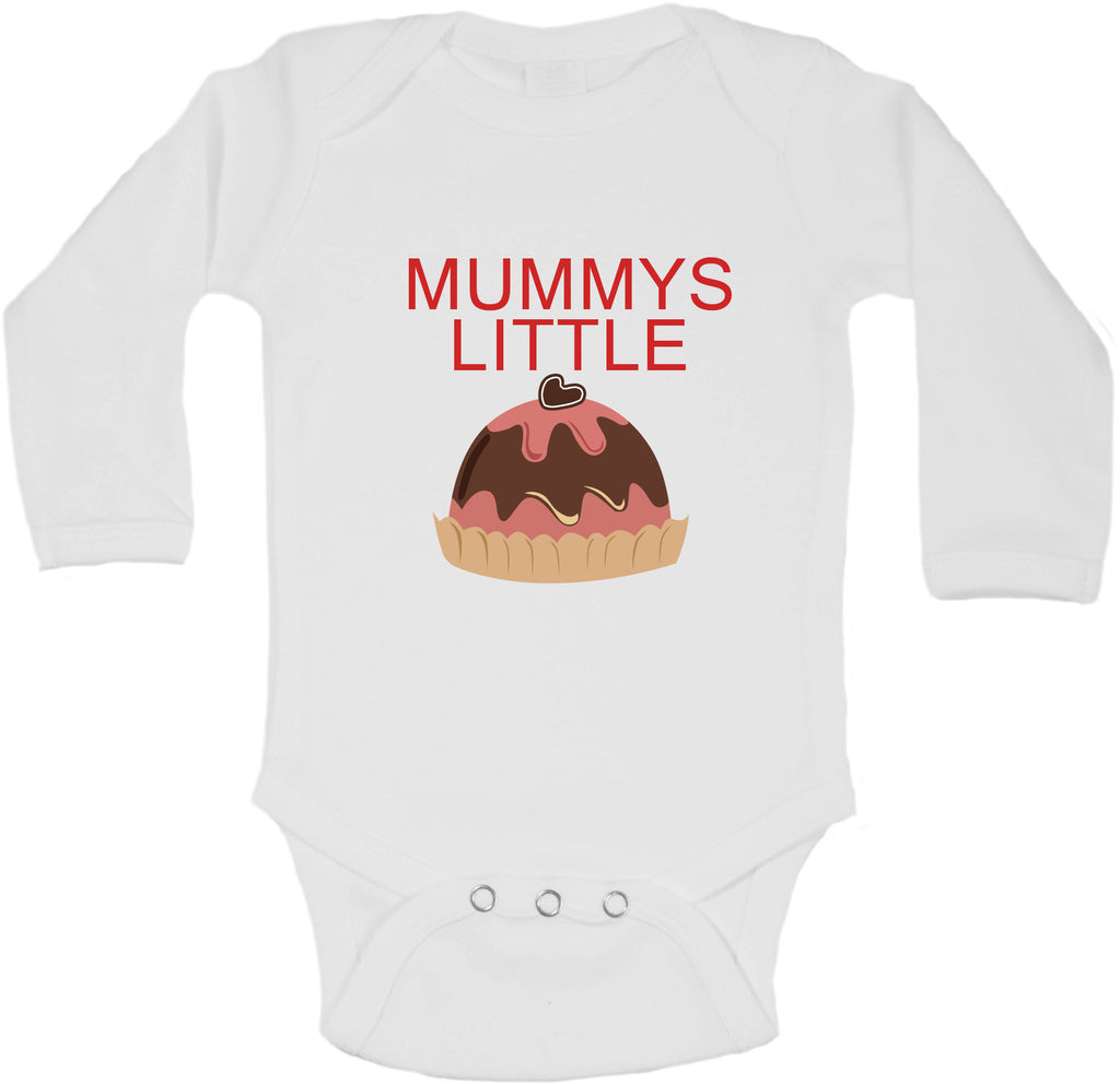 Mummys Little Christmas Pudding - Long Sleeve Vests