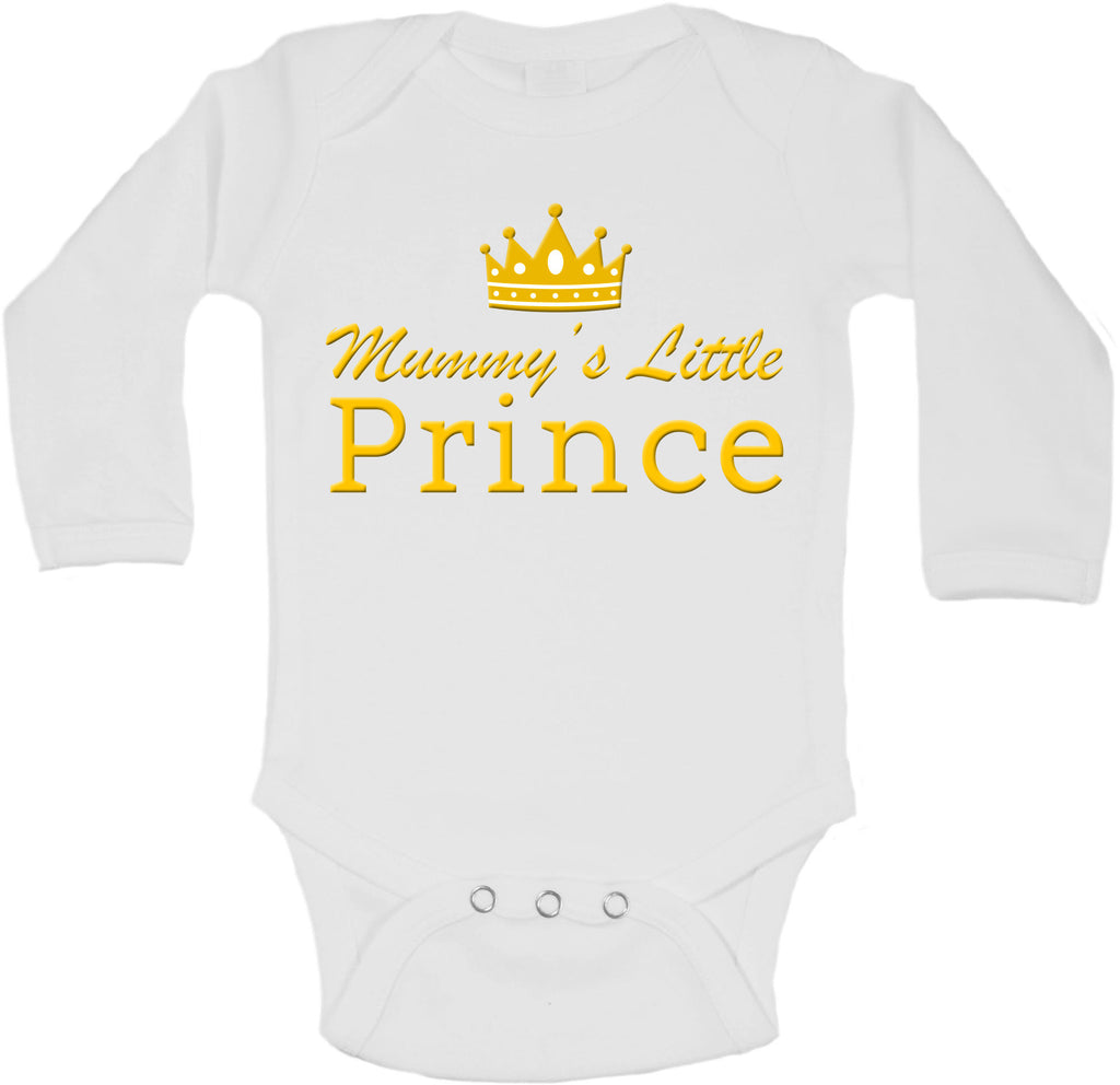 Mummys Little Prince - Long Sleeve Vests