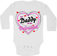 My Daddy Is My Valentine - Long Sleeve Vests