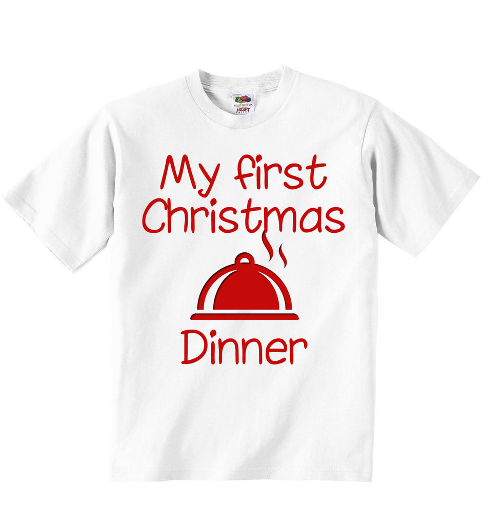 My First Christmas Dinner - Baby T-shirt