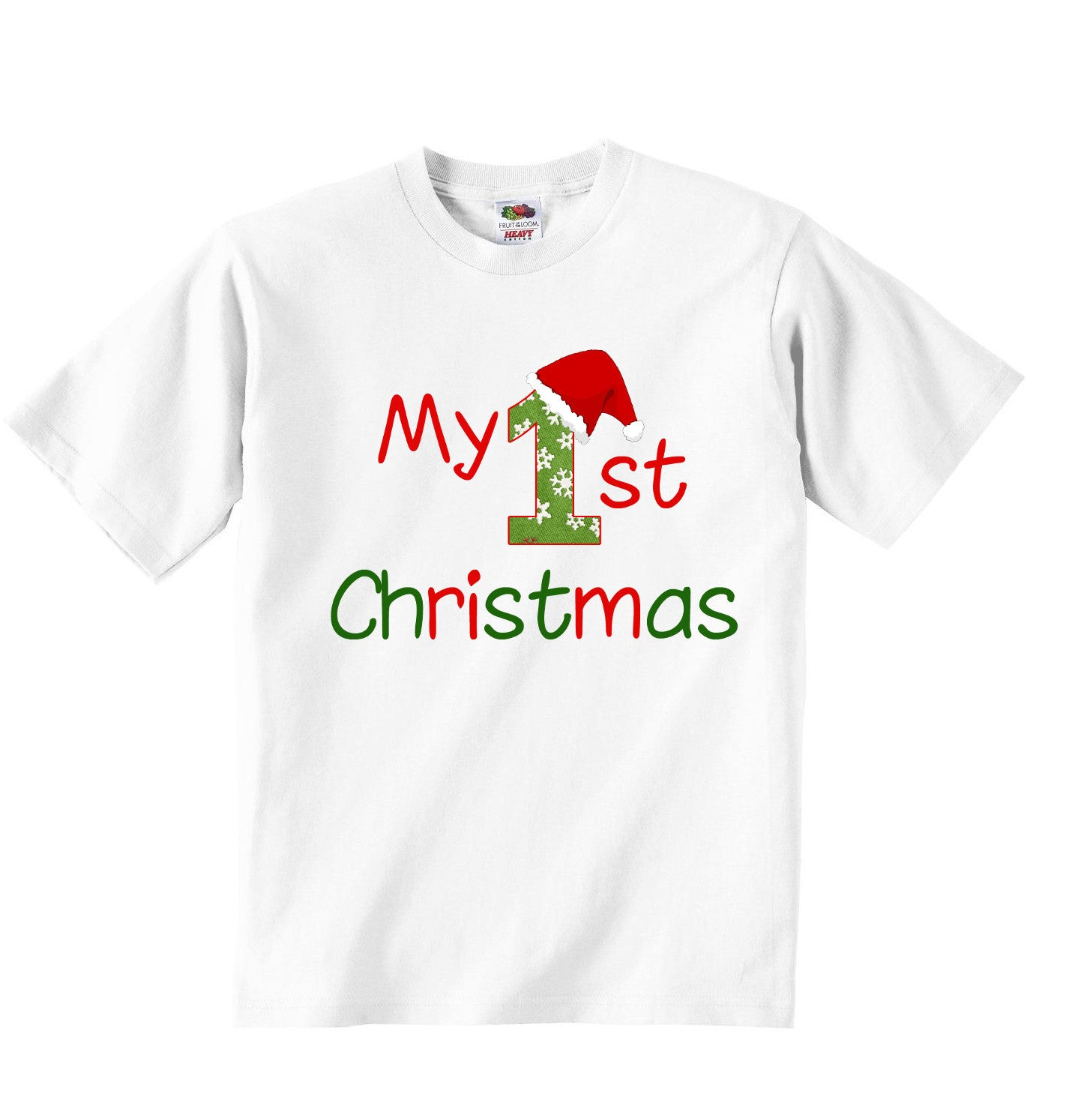 5ab570068 My First Christmas - Baby T-shirt | Little Ratbag Baby Childrens Clothing