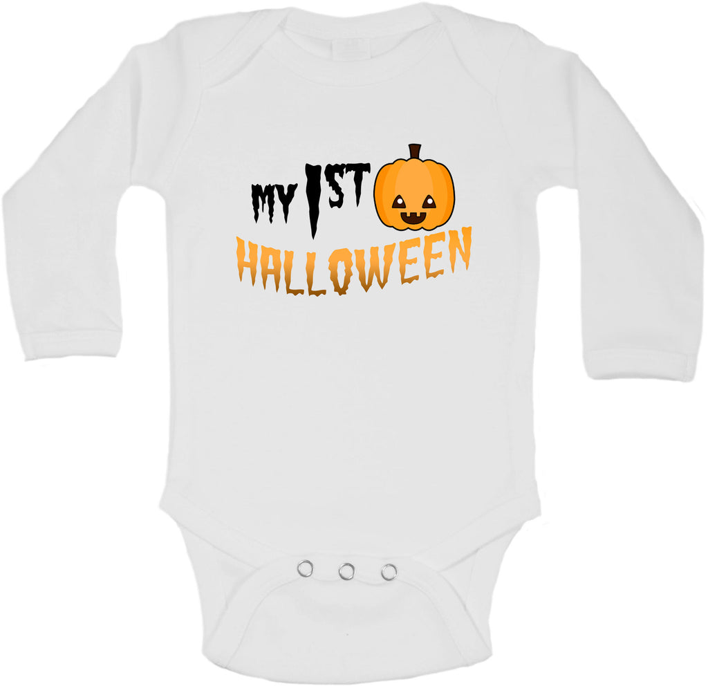 My First Halloween - Long Sleeve Vests