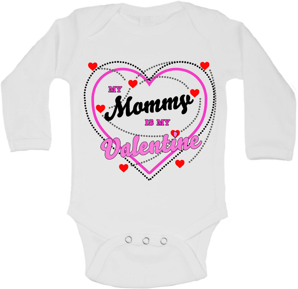 My Mummy Is My Valentine - Long Sleeve Vests