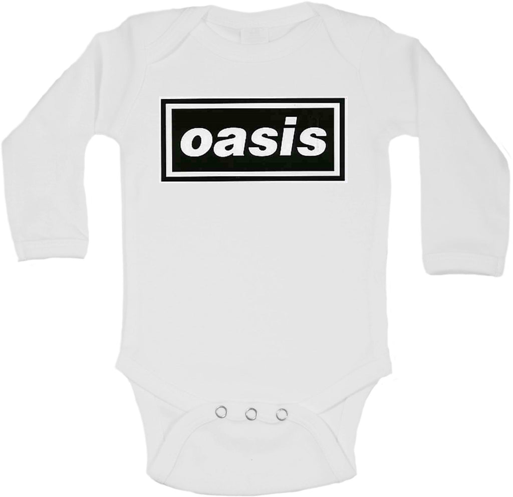 Oasis (English Rock Band) - Long Sleeve Vests