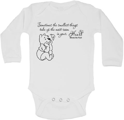 Winnie the Pooh Beautiful Quotation - Long Sleeve Vests