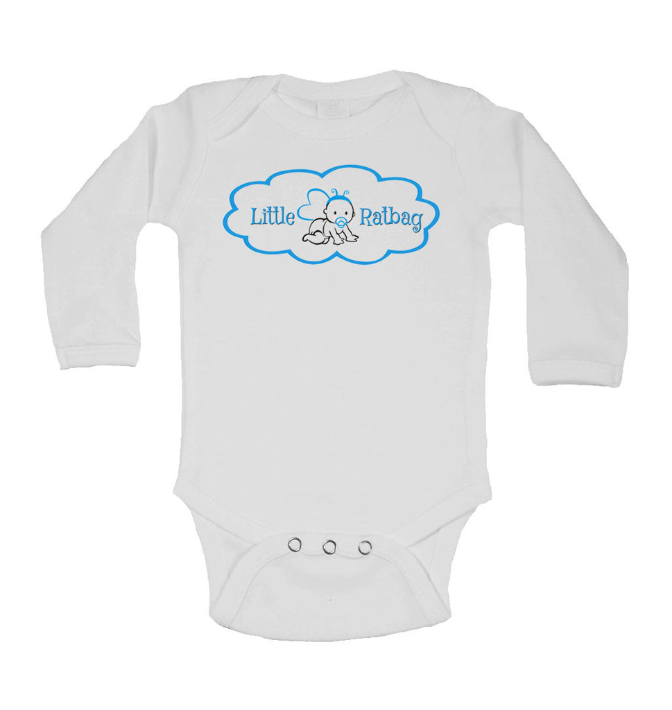 Little Ratbag - Long Sleeve Baby Vests