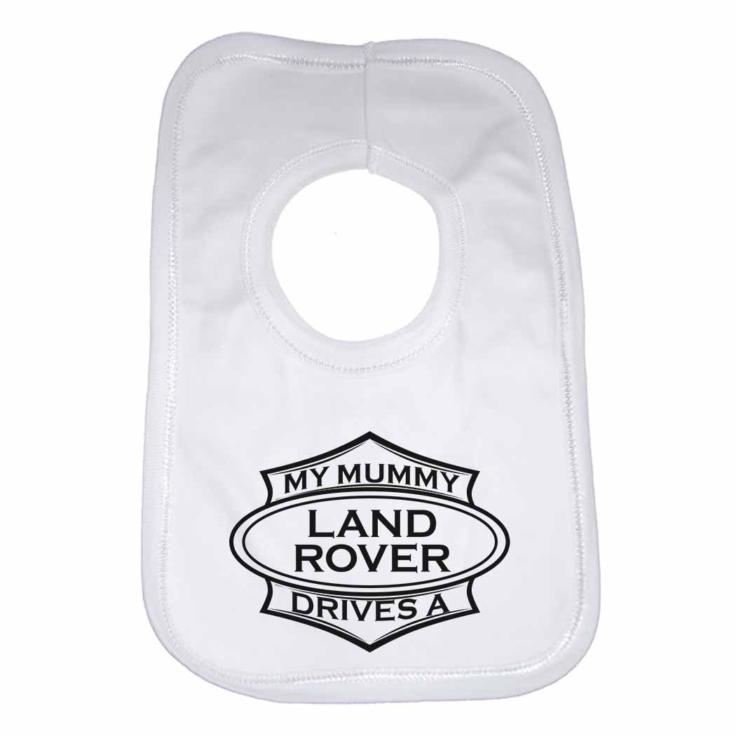 Born to Go Darts with My Mummy Personalised Cotton Baby Bib for Boys /& Girls