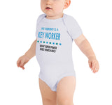 Soft Baby Vests My Mummy a Is A Key Worker What Super Power Does Yours Have? Present