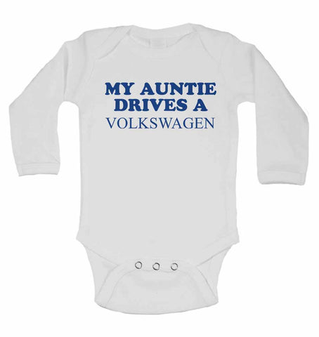 My Auntie Drives A Volkswagen  - Long Sleeve Vests