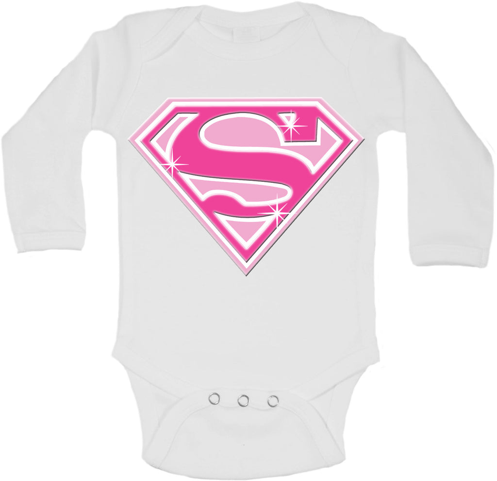 Super Girl - Long Sleeve Vests