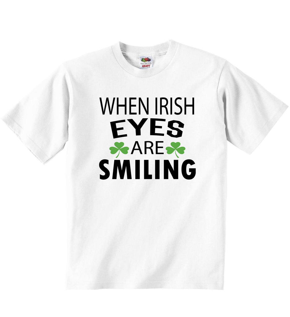 When Irish Eyes Are Smiling - Baby T-shirts