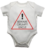 Beware Grumpy Uncle - Baby Vests Bodysuits