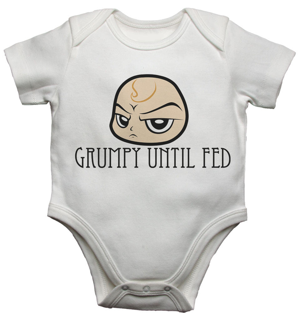 Grumpy Until Fed - Baby Vests Bodysuits