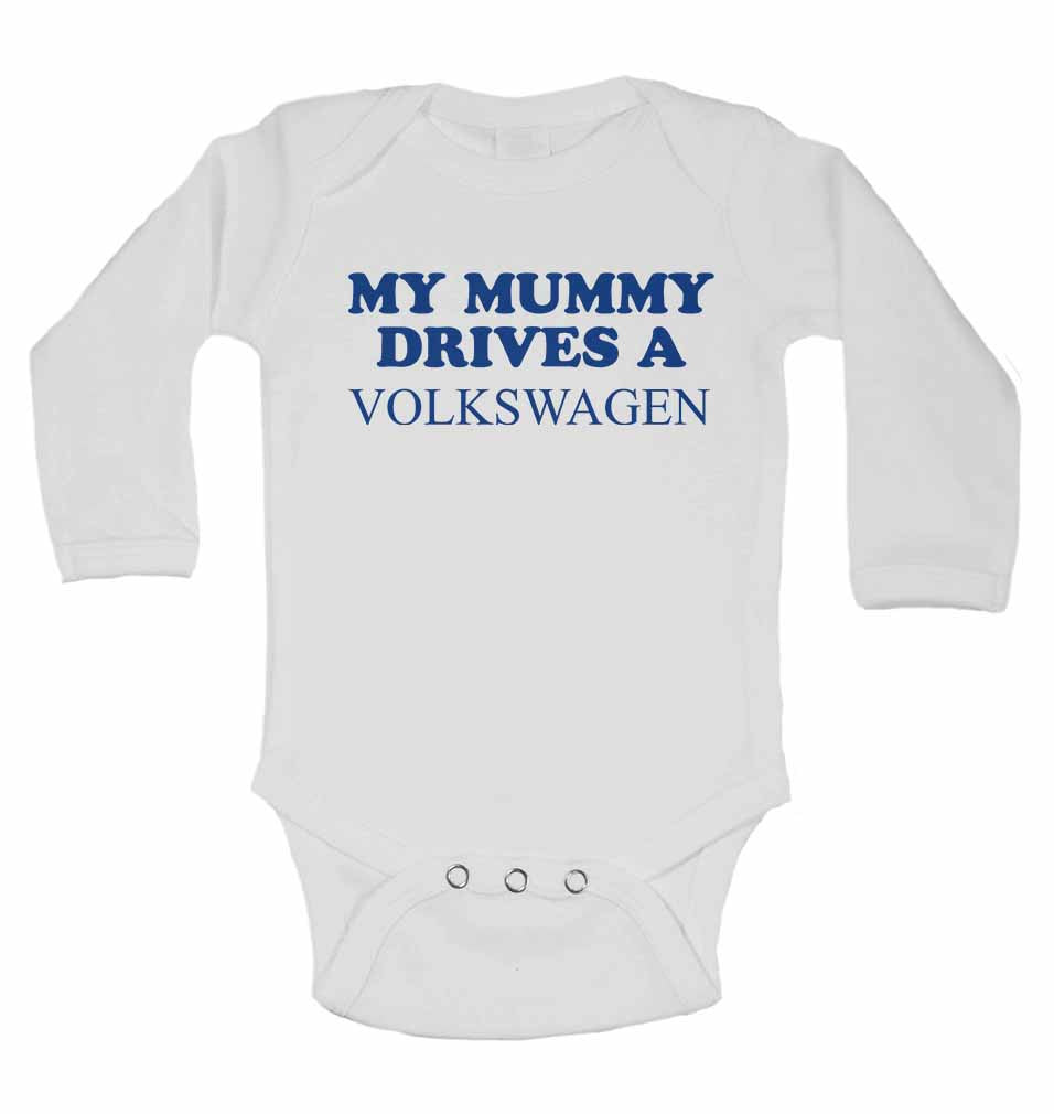 My Mummy Drives A Volkswagen - Long Sleeve Vests